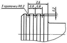 ГОСТ 13956-74 Ниппели для соединений трубопроводов по наружному конусу. Конструкция и размеры (с Изменениями N 1, 2)