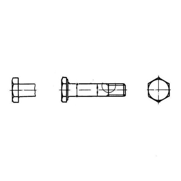 ОСТ 1 12085-77 Болты с уменьшенной шестигранной головкой