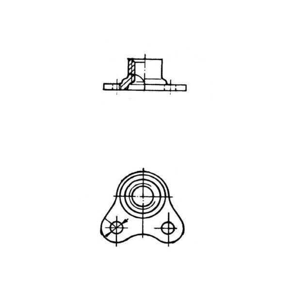 ОСТ 1 33079-80 Гайки угловые самоконтрящиеся