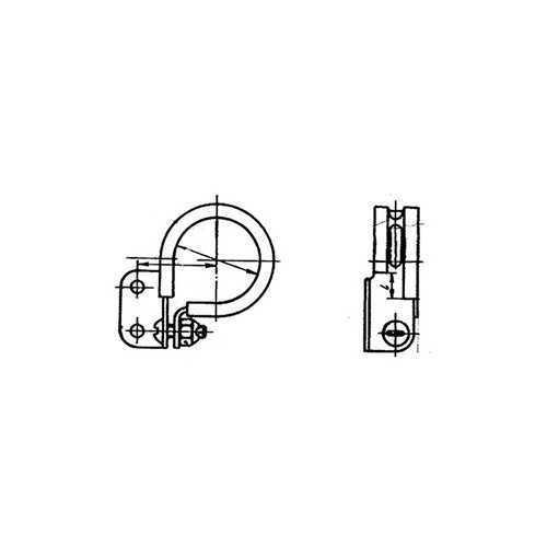 ОСТ 1 12100-75 Хомуты зажимные с боковым креплением