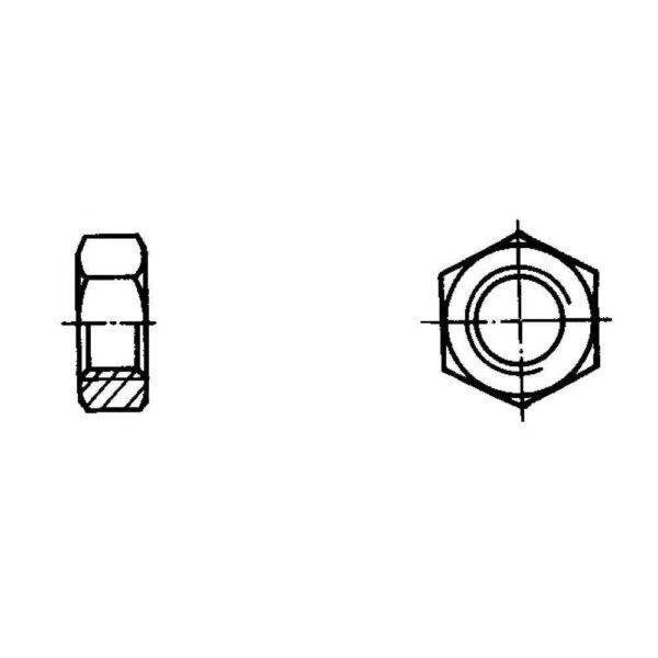 ОСТ 1 33028-80 Гайки шестигранные низкие
