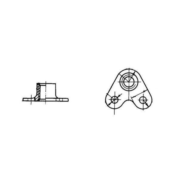 ОСТ 1 33078-80 Гайки угловые самоконтрящиеся