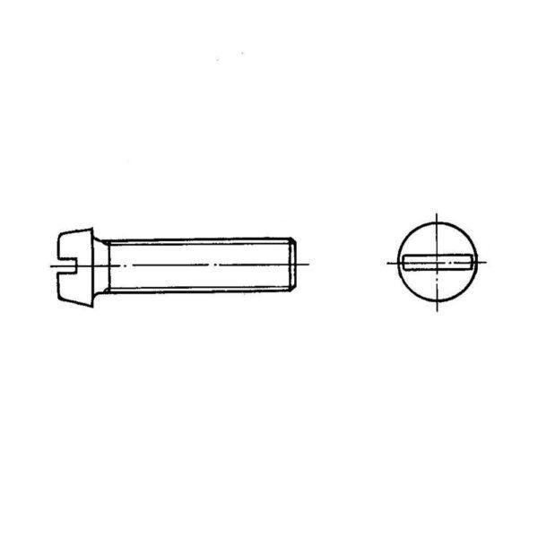 ОСТ 1 31515-80 Винты с цилиндрической головкой
