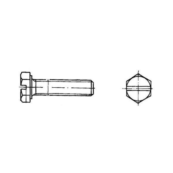 ОСТ 1 31512-80 Винты с шестигранной головкой и шлицем