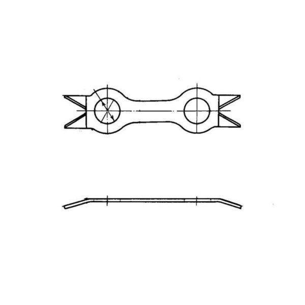 Шайбы двойные ОСТ 1 34528-80