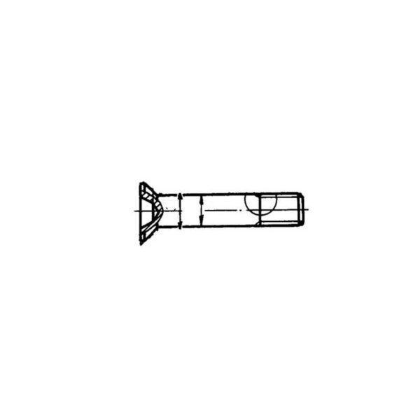 ОСТ 1 12086-77 Болты с потайной головкой углом 90° из титанового сплава для соединений