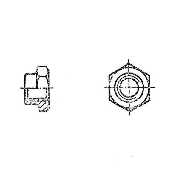 Гайки низкие ОСТ 1 33235-89