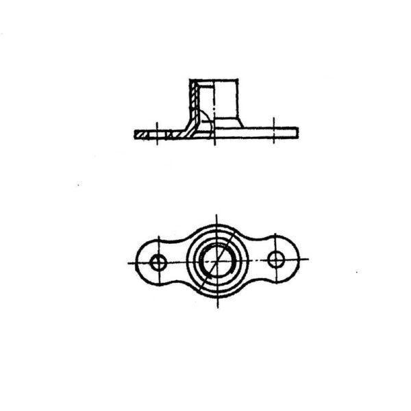 Гайки двухушковые ОСТ 1 11379-73