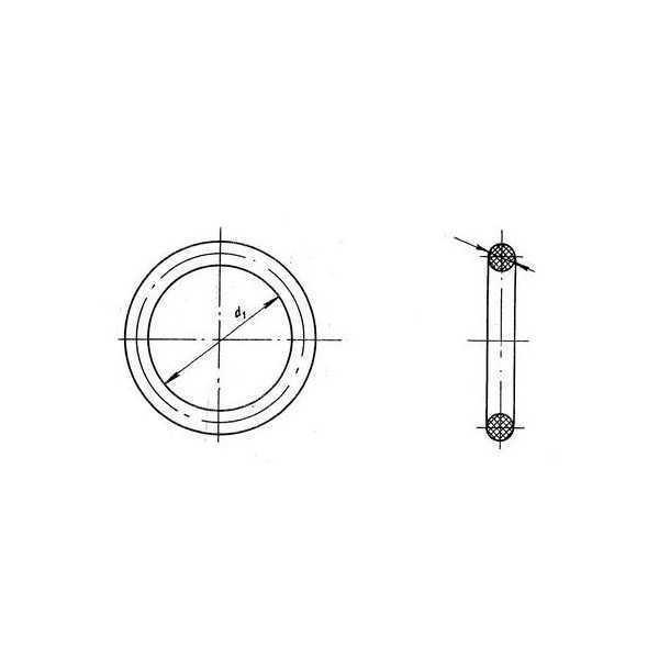 ОСТ 1 00980-80  Кольца резиновые уплотнительные круглого сечения