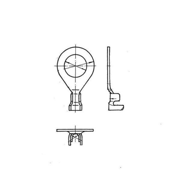 ОСТ 1 13702-81 Наконечники облегченные для электропроводов с обжатием изоляции