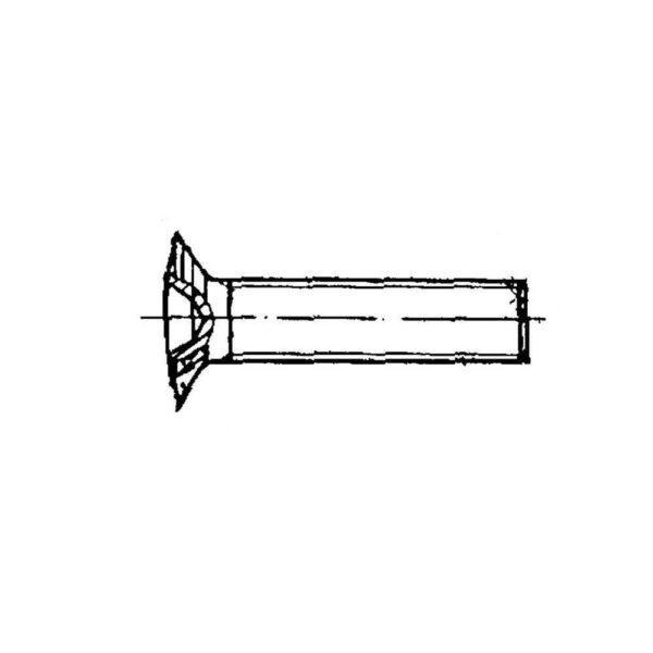 ОСТ 1 31565-80 Винты с полупотайной головкой L120`