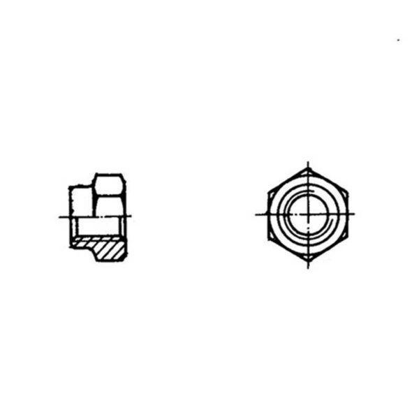 ОСТ 1 33056-80 Гайки шестигранные высокие самоконтрящиеся