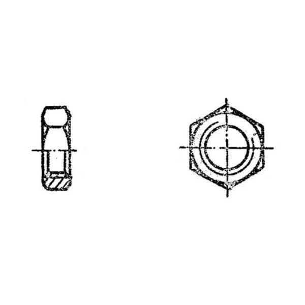 ОСТ 1 33215-89 Гайки шестигранные для нерасчетных соединений и стопорения