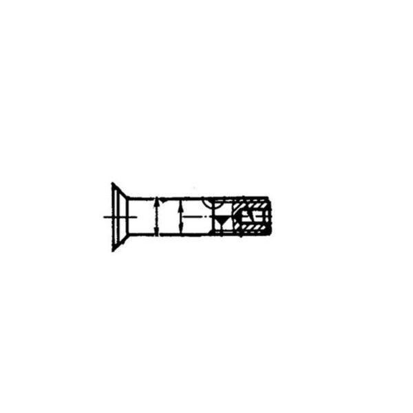 ОСТ 1 31068-86 Болты с уменьшенной потайной головкой ∠90°