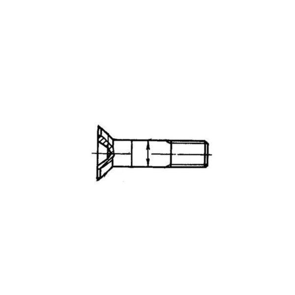 Болты с потайной головкой ОСТ 1 10571-72