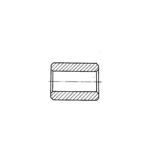 ОСТ 1 12143-75 Втулки гладкие приборные металлические
