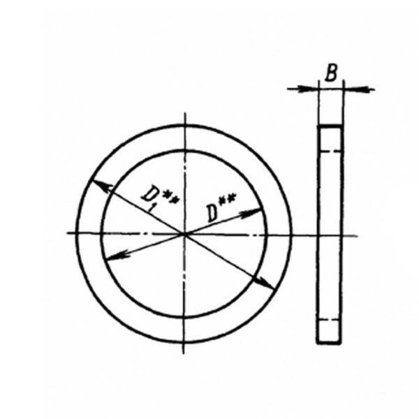 Шайба ОСТ 1 34530-80
