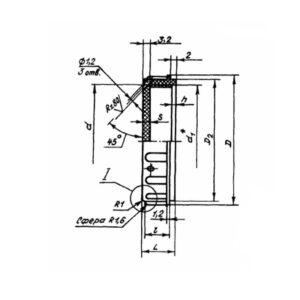 Заглушка предохранительная ОСТ 1 10477-72