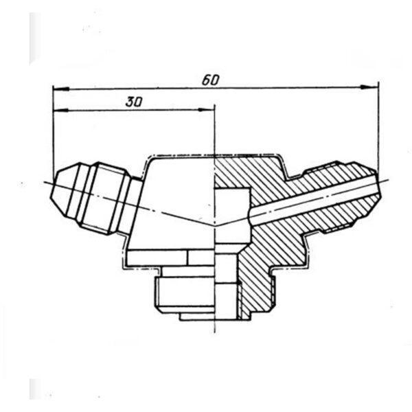Тройник ОСТ 1 11011-73