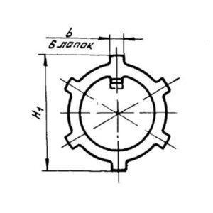 Шайба стопорная ОСТ 1 11518-74