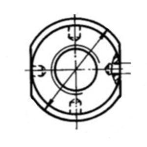 Гайки ОСТ 1 12654-76