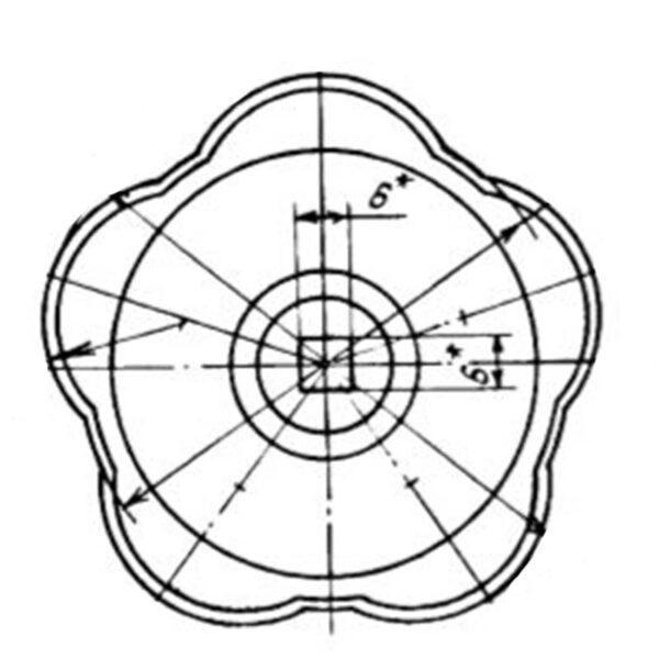 Маховичок ОСТ 1 11309-73